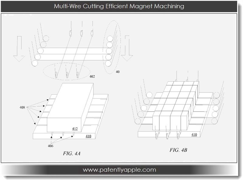 3. Apple Mfg. Process - Multi-Wire Cutting Efficient Magnet Machining