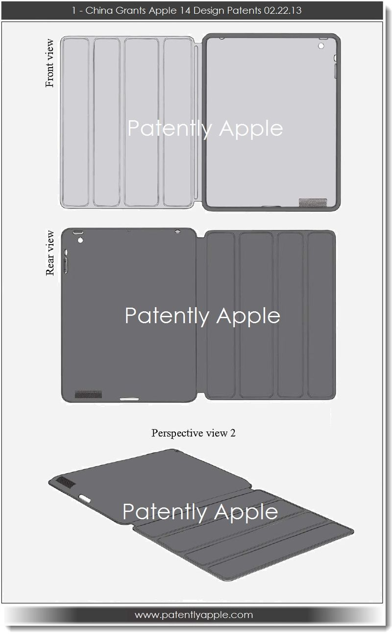 2. CHINA APPLE SMART CASE DESIGN REGISTERED