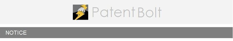 NEW NOTICE BAR - PATENT BOLT