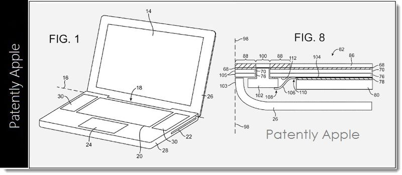 4. Apple wins patent borderless display