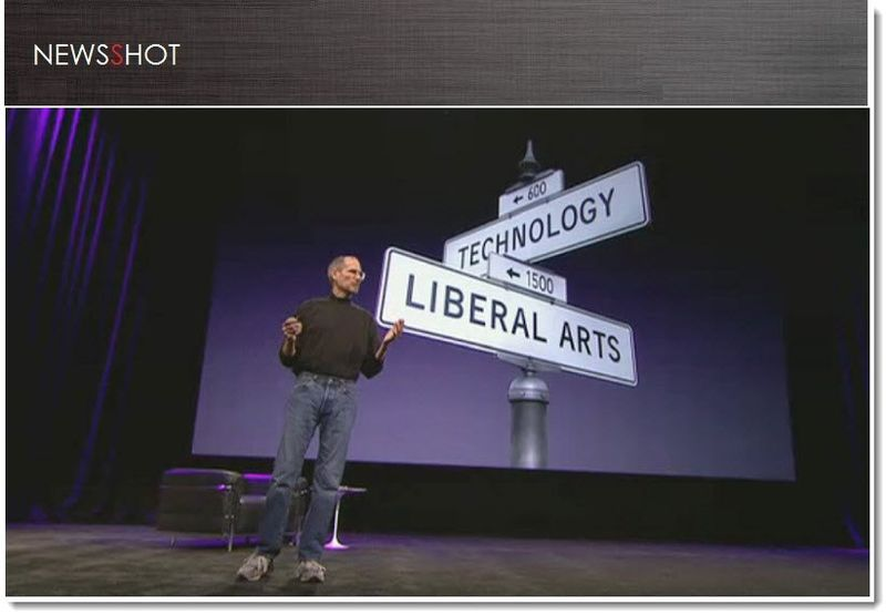 1. Cover, Steve Jobs, Technology + Liberal Arts