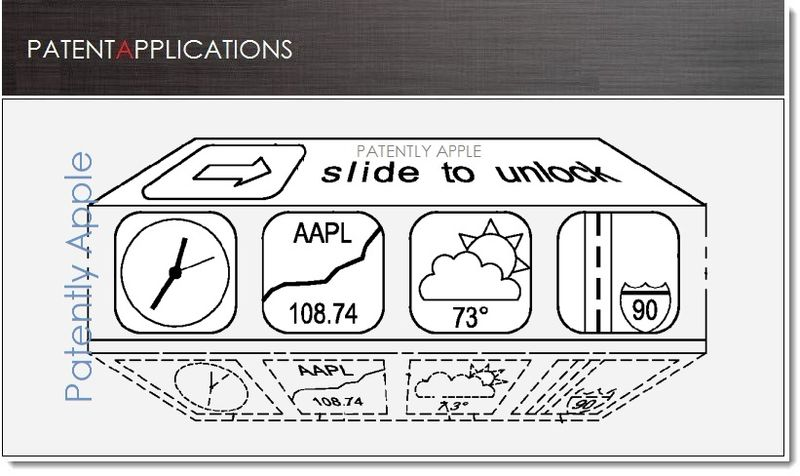 1. Cover, New Quick Access UI , Apple patent