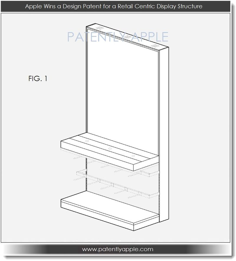 5. Apple Design Patent for Display Structure