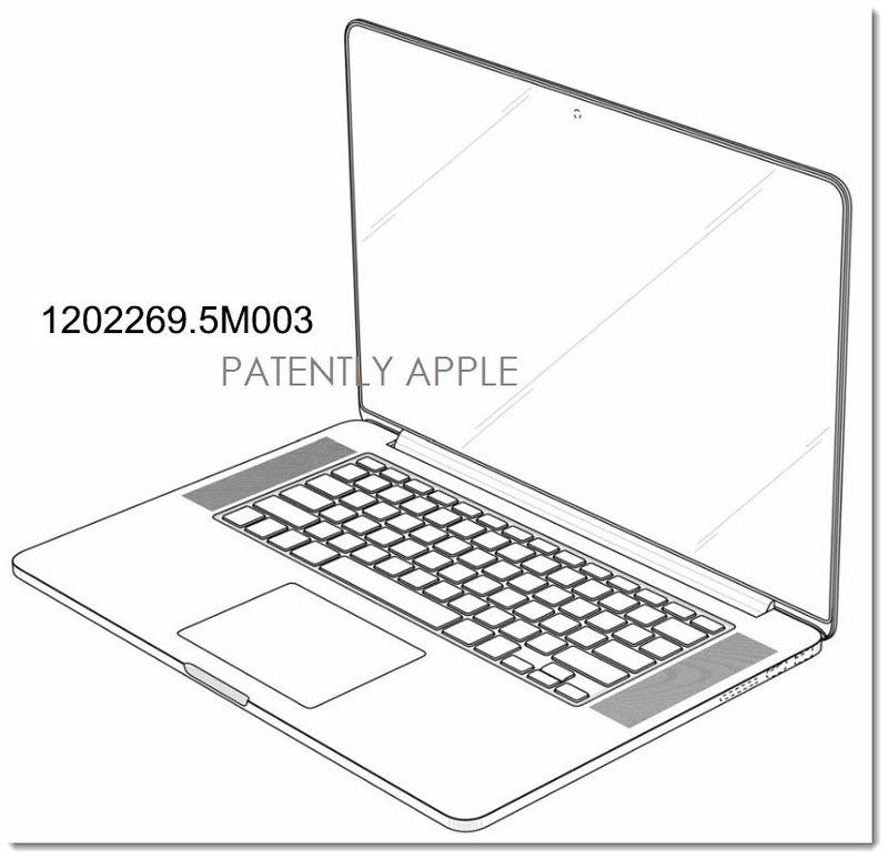 4. Apple granted macbook pro design patent - 3