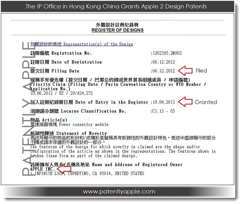 1BB - IP OFFICE HONG KONG OFFICIAL REGISTRATION FORM