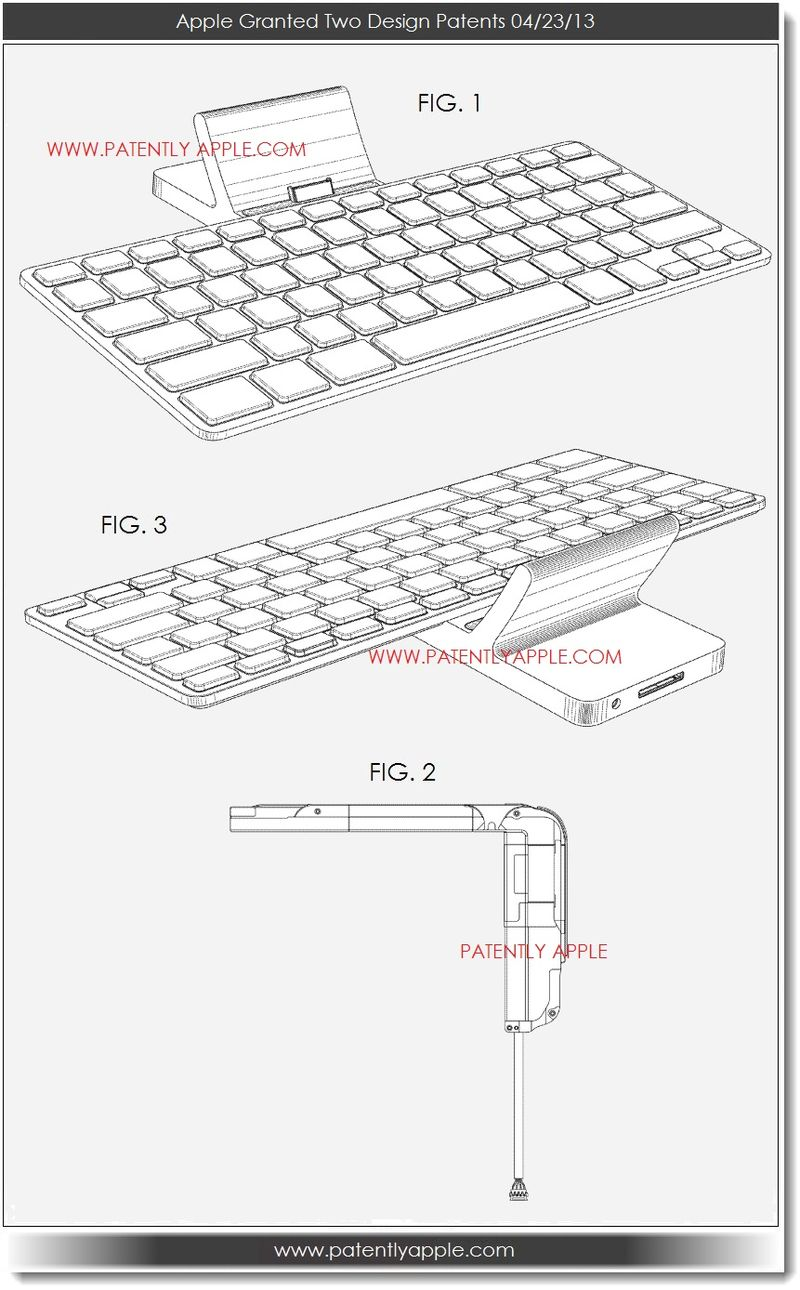 3. Apple granted 2 design patents 04.23.13