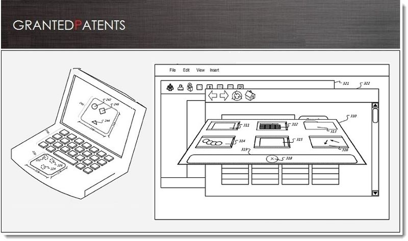 1. Cover, Apple granted patent for Virtual Input Tools