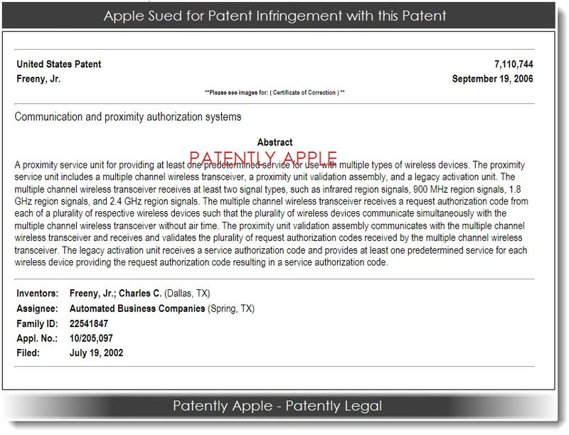 2. Apple sued with this patent 04.30.2013