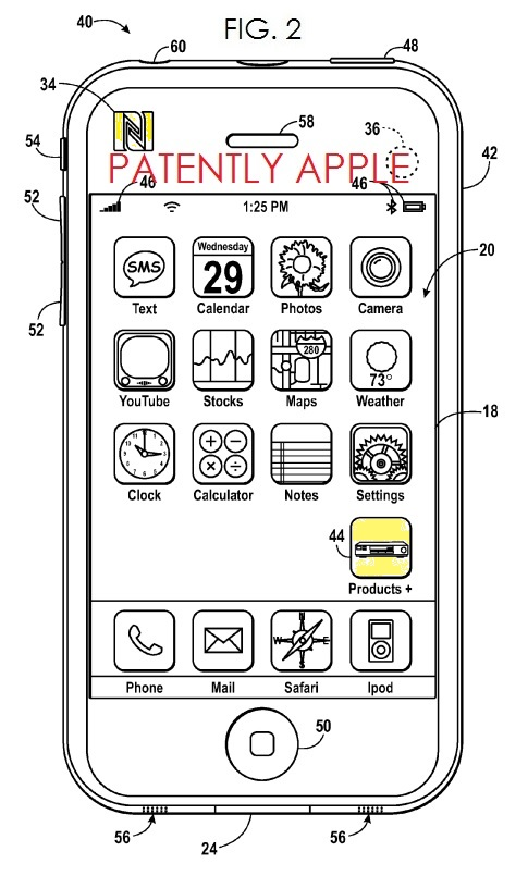 2. Apple NFC Patent Application 05.02.13