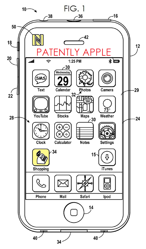 2. A New Apple Patent on Shopping with NFC