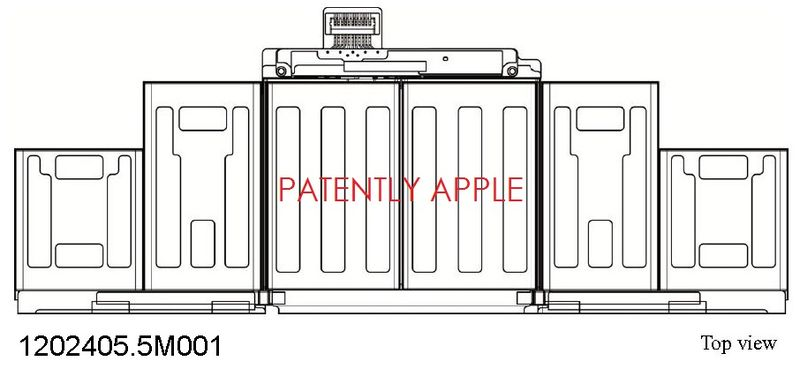 2. Apple Battery Design Patent Granted