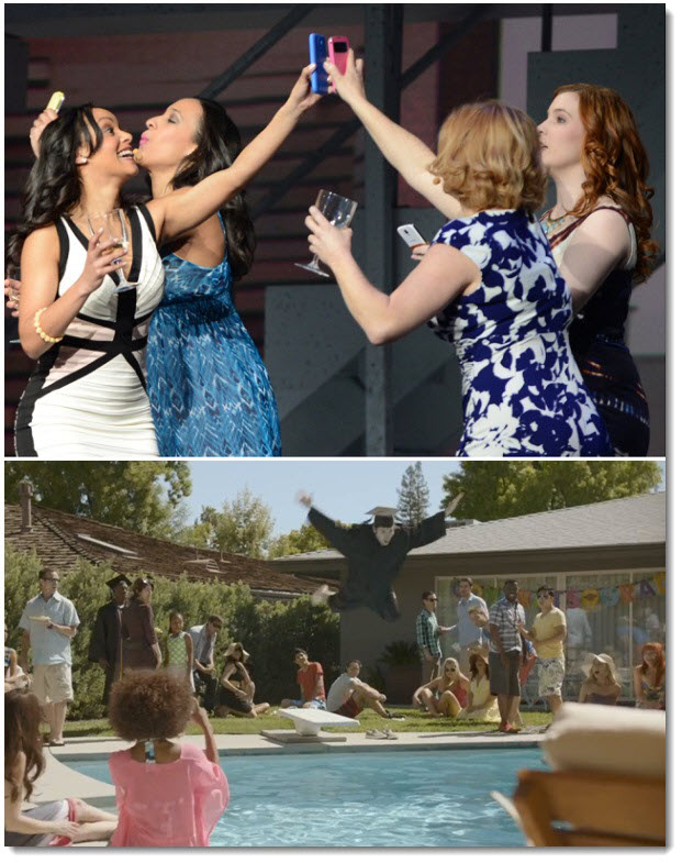 2. Ditsy Boozing Housewives to Pool Graduates