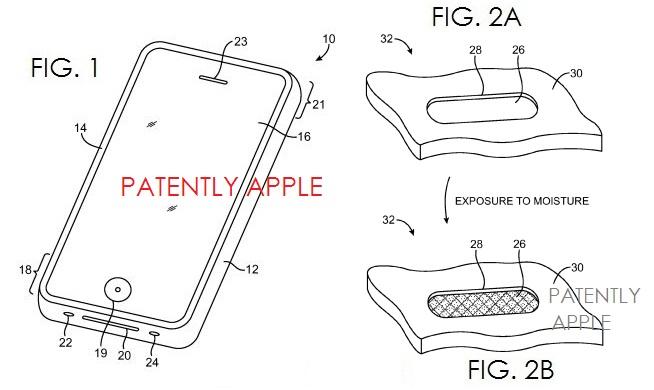 3. Waterproofing Patent, Apple, May 2013