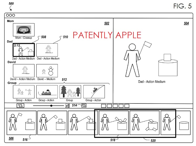 3. iMovie Creation Patent