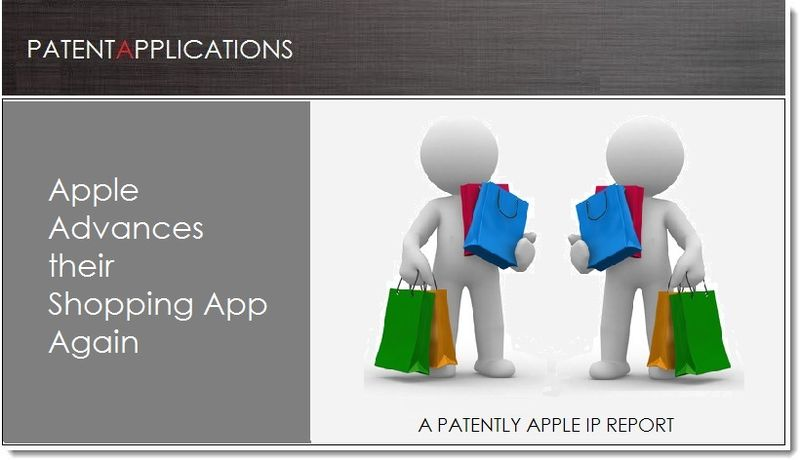 1A. Cover, Apple patent Advances their Shopping App, Again