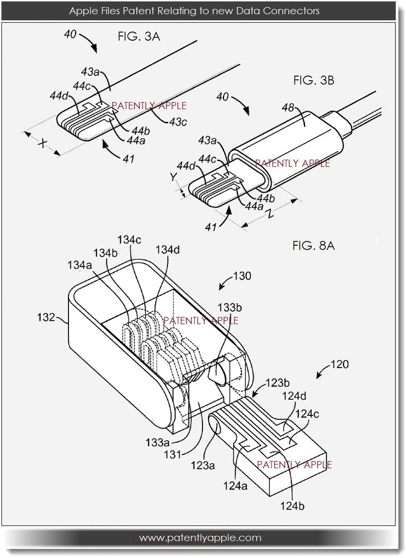 Apple Rethinks Audio And Data Connectors Patently Optical Fiber Cable Google Patents On Wiring Home With Optic New Connector Patent