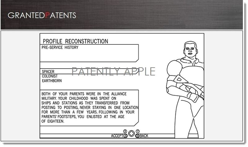 1. COVER, Apple granted Patent for Creating comic book from video game