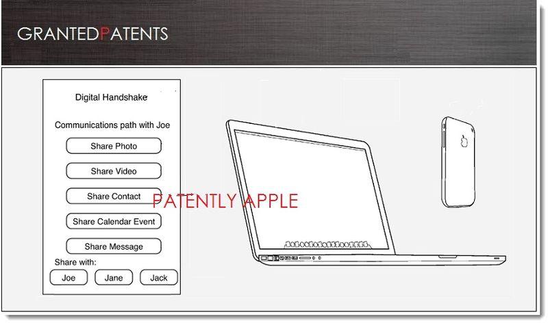 1. Cover, Digital Handshake Patent