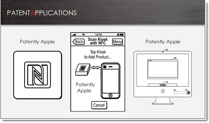 1. Apple patent appllication for establishing an NFC Session