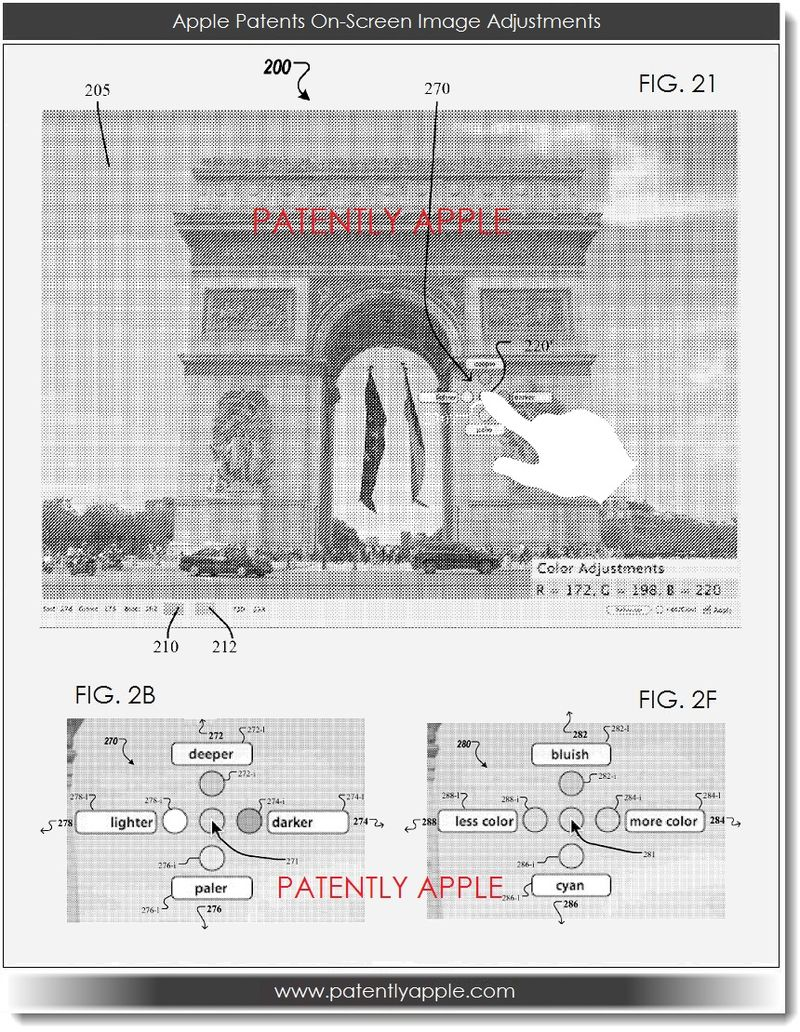 3. Apple Patents On-Screen Image Adjustments