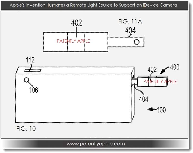 5. Apple invention includes remote light source