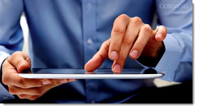 Corning, iPad