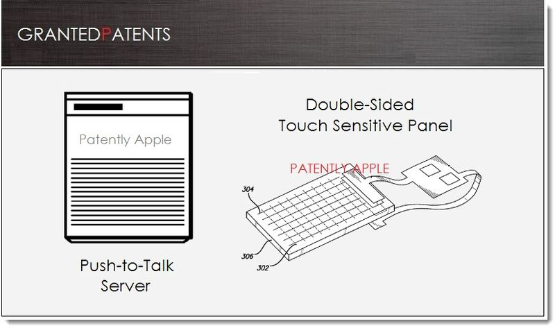1. Cover - Apple granted 26 patents today ... Push-to-Talk +