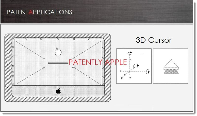 1A. Cover - Apple Patents cover shape adjustment system & 3D Cursor