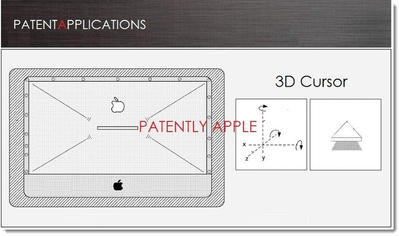 1A. Cover - Apple Patents cover shape adjustment system & 3D Cursor
