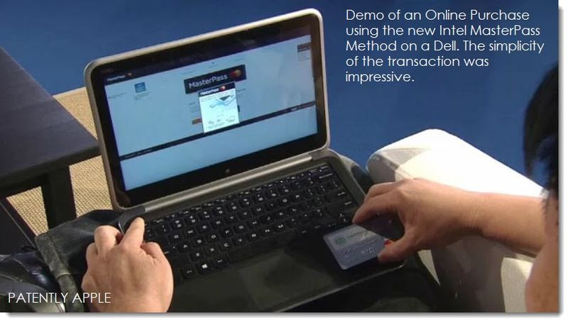 8. Demo of MasterPass in action on a Dell to make a purchase online.