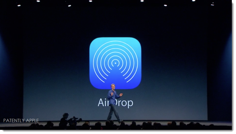 14. AirDrop New iOS 7 feature