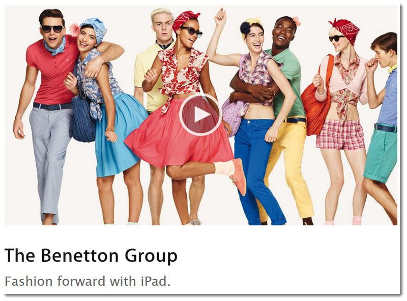 5. The Benton Group uses the iPad