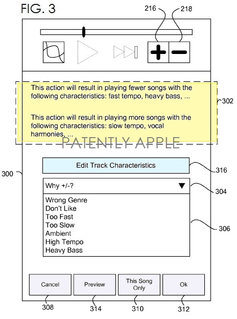 4. Apple's iRadio patent fig. 3