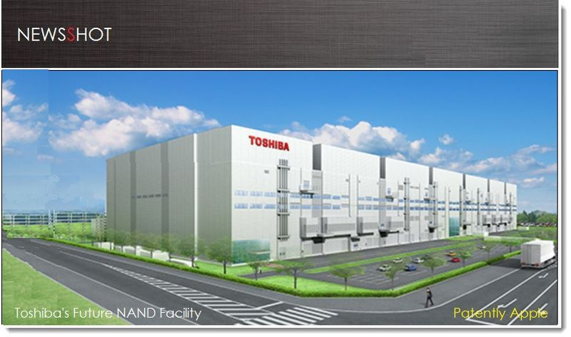 1. Cover - Toshiba NAND factory under construction -