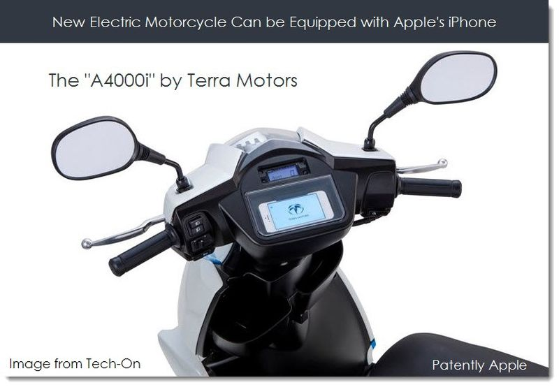 2A. iPhone equipped A4000i by Terra Motors