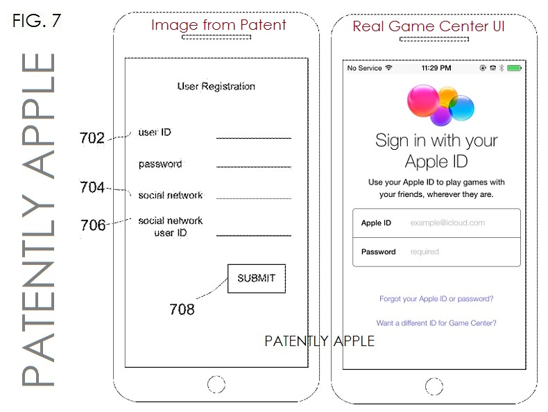 3. One of Apple's Game Center Patents Surface