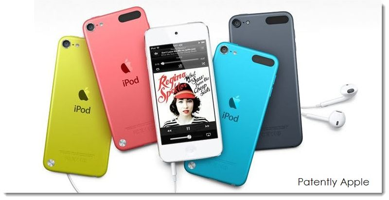 4. Real iPod colors and unique consistant logo