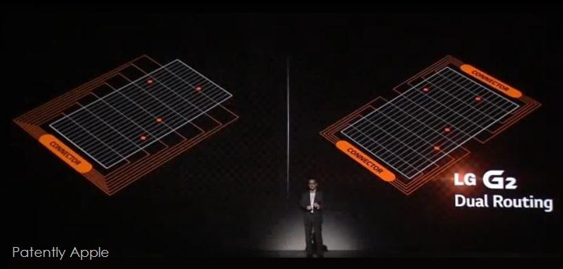 #12 LG G2 dual routing sensor display