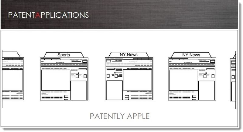 1. Cover - Apple patent for tabbed browsing in array mode