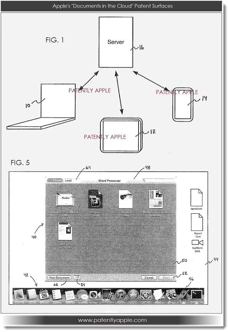 2. Apple's Documents in the Cloud Patent Surfaces