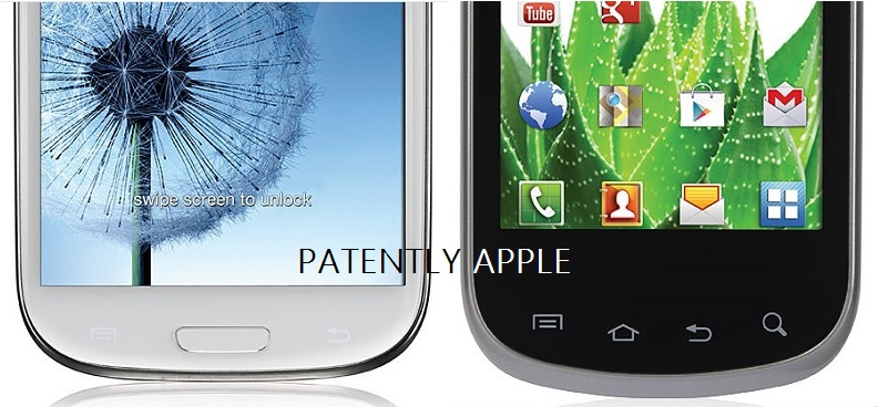 2. Oblong buttons or icons, but no round home button