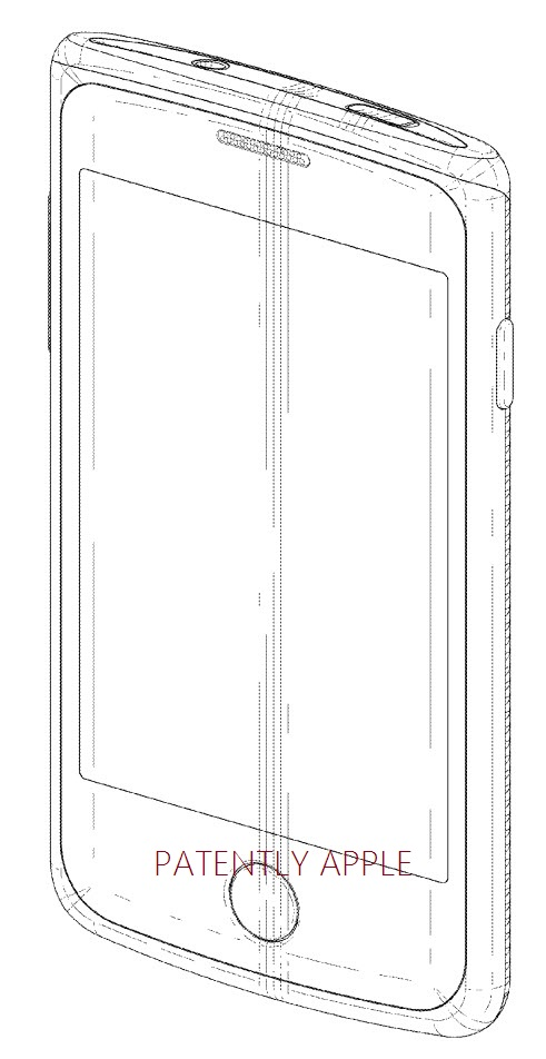 3. Samsung design patent with round home button