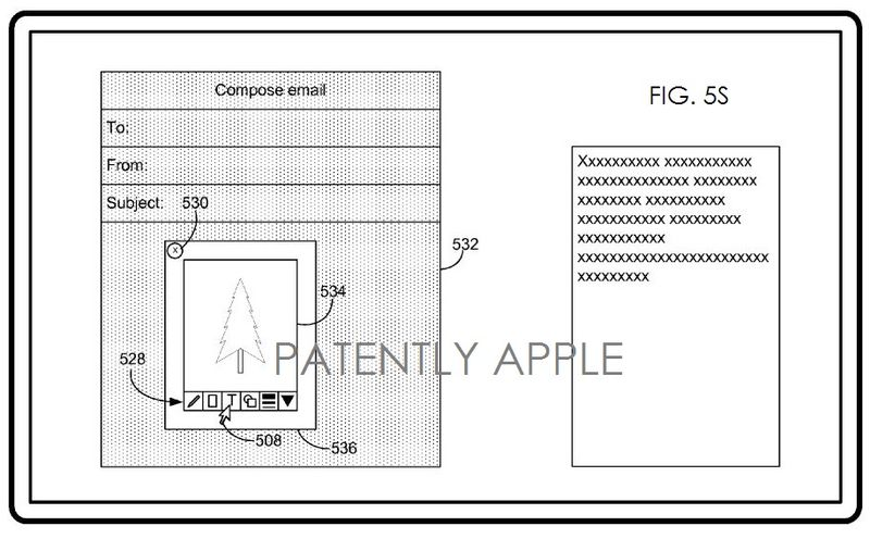 4. Apple patent figure 5S editing