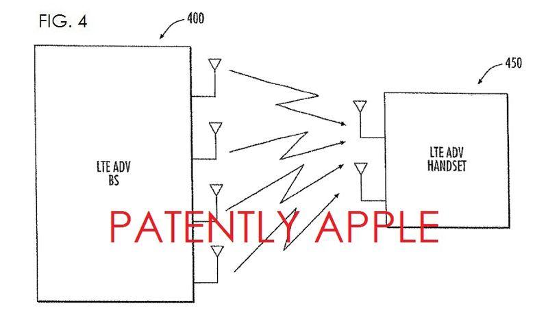5. Apple patent regarding LTE Advanced technology