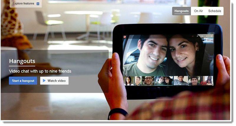 2A. Google Hangouts