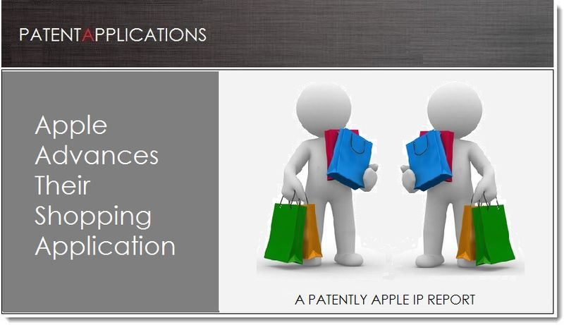 1A. Cover, Apple patent re Shopping App