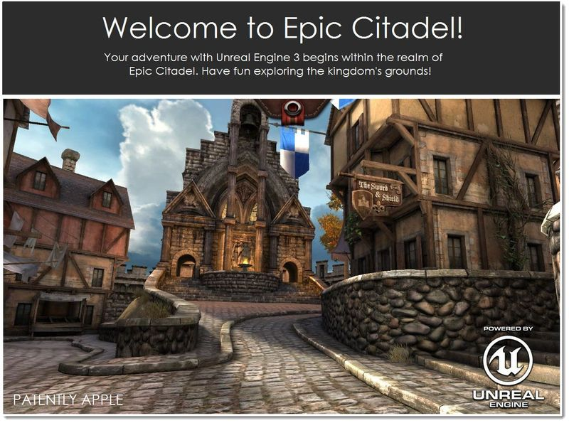 2A. Welcome to Epic Citadel on Firefox