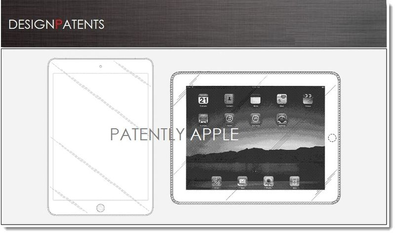 1. Cover - iPad Design Patents