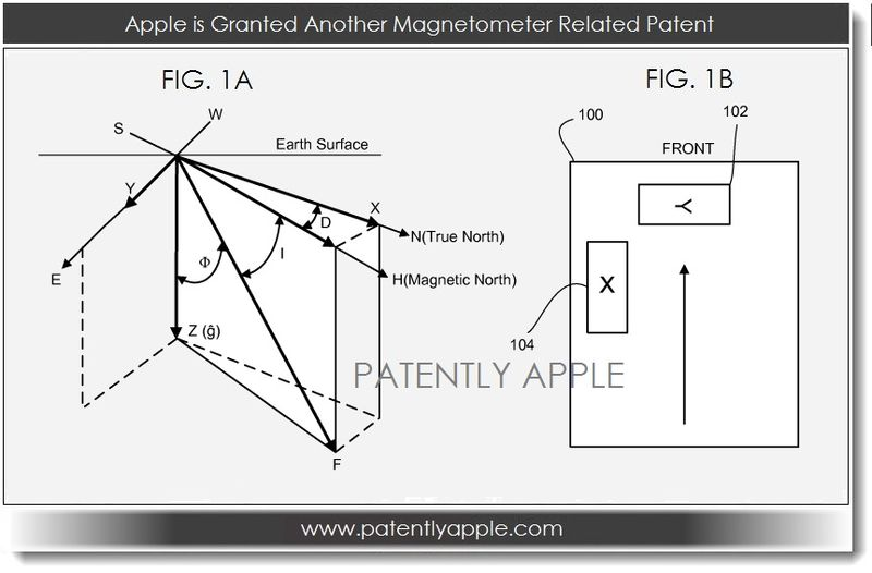 3. Apple is Granted another Magnetometer Related Patent - May 07, 2013