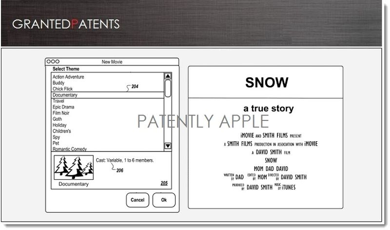 1. Cover, Apple Granted Patents for Final Cut, iMovie software features